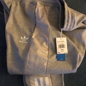 Adidas relax sweatpants size xxl new